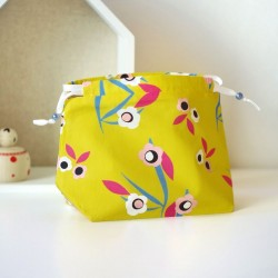 MINI BEAUTYBAG UME GIALLO