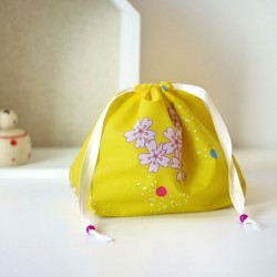 MINI BEAUTYBAG SAKURA GIALLO