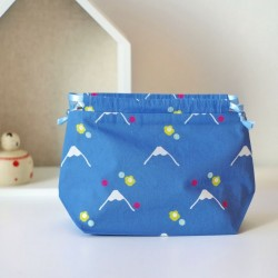 MINI BEAUTYBAG FUJI BLU