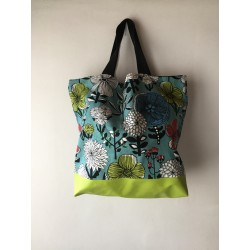 SHOPPER FIORI LIME