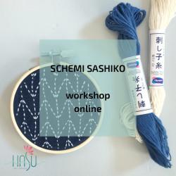 SCHEMI SASHIKO workshop online